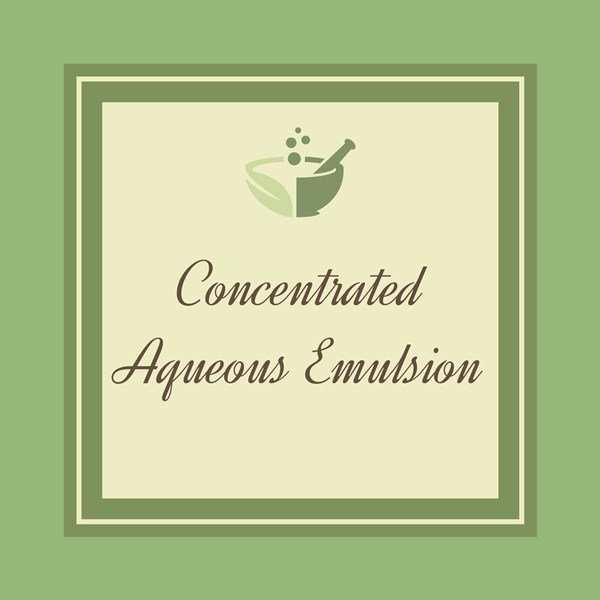 Concentrated Aqueous Emulsion-01