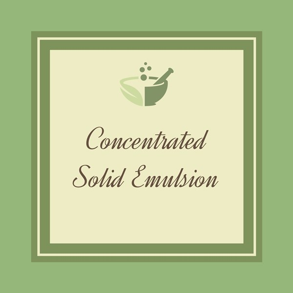 Concentrated solid Emulsion-01