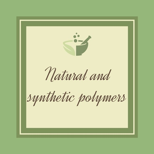 Natural and synthetic polymers-01